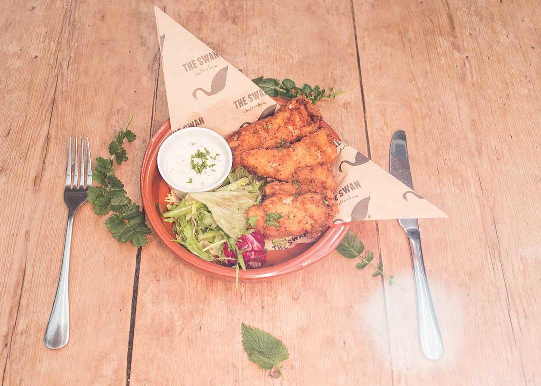 Food at The Swan, Cheltenham