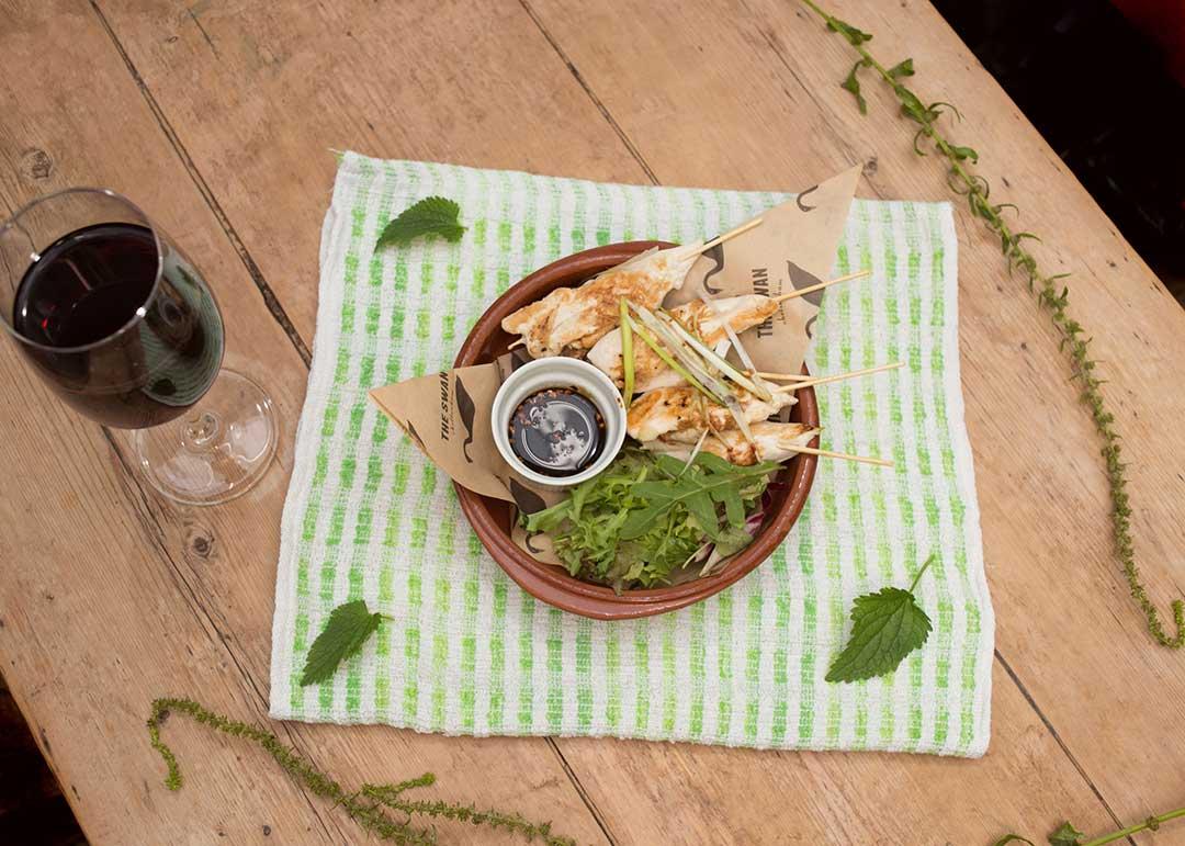 Food at The Swan, Cheltenham - light bites