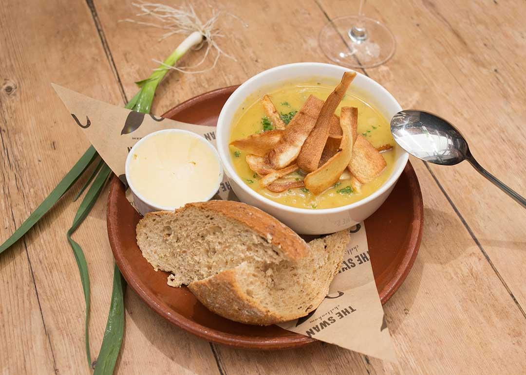 Food at The Swan, Cheltenham - vegan options
