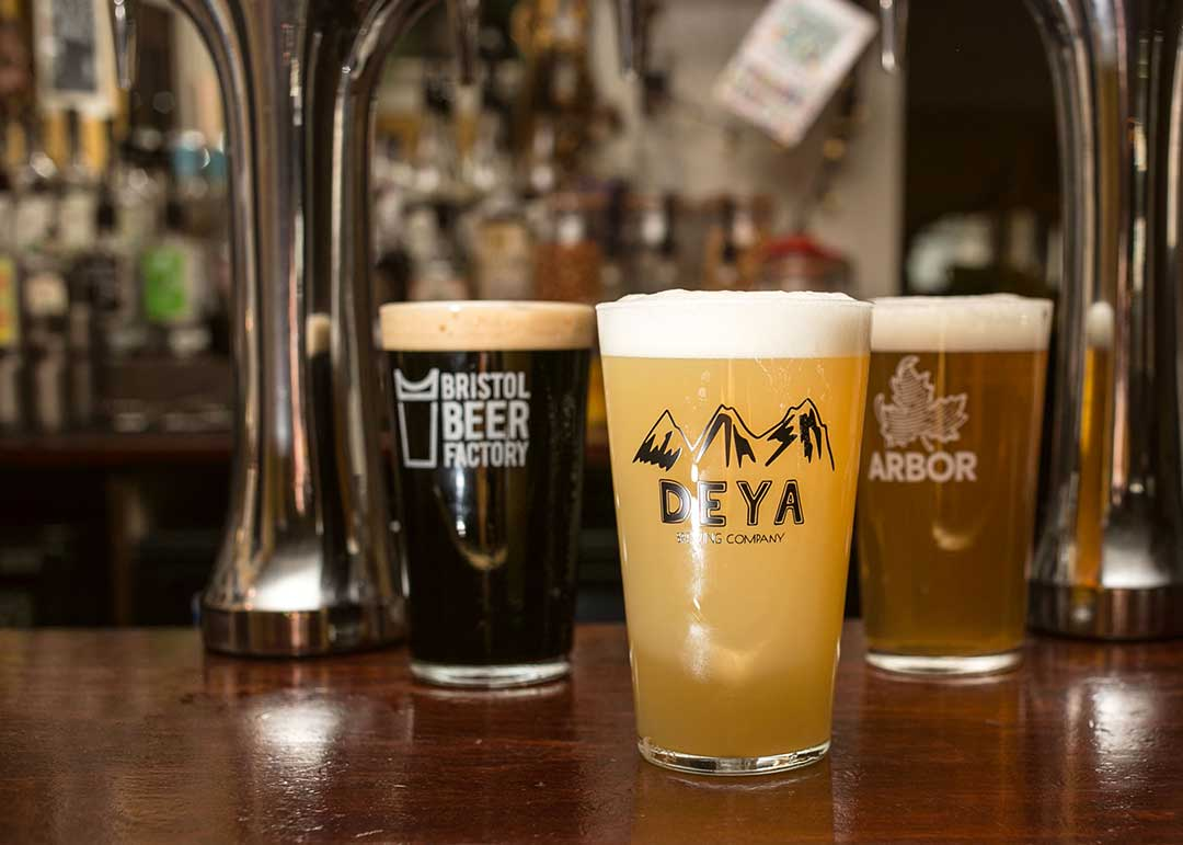Drinks at The Swan, Cheltenham - Craft Beer and Ales