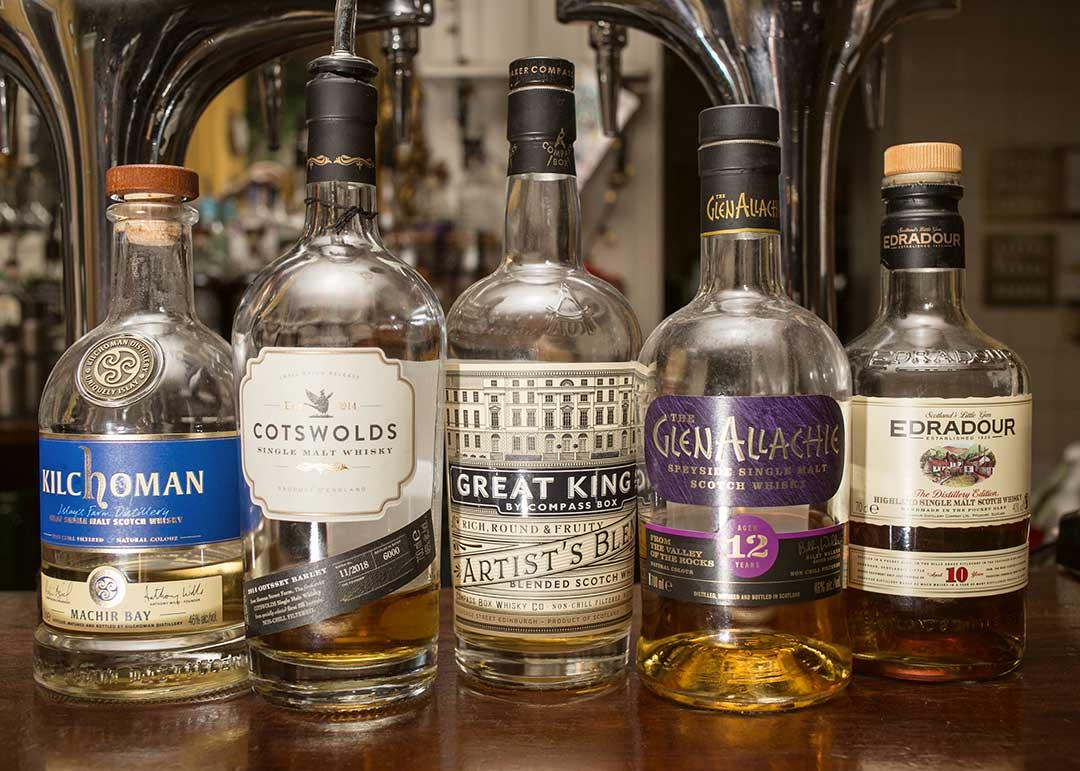Drinks at The Swan, Cheltenham - Spirits