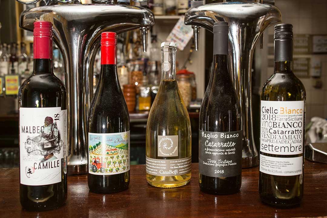 Drinks at The Swan, Cheltenham - wine